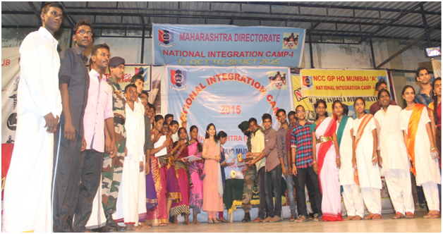 Awarding ceremony at the National Integration Camp