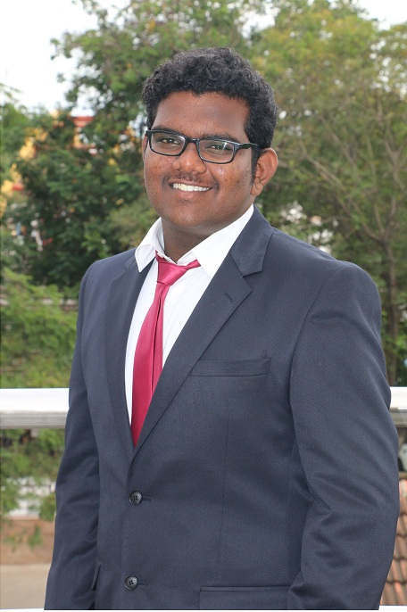 NANDAGOPAL (B.E. CIVIL, 2013-17) – Chairperson